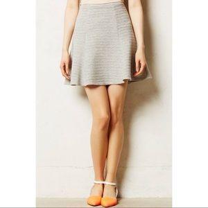 "Maeve ""Crossroad Swing"" Sz S textured mini skirt"