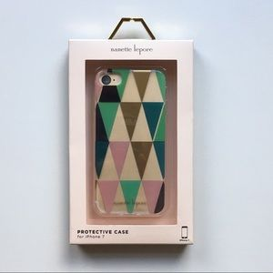 Nanette Lepore iPhone 7 Geometric Shape Phone Case