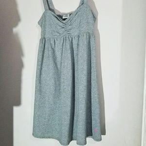 Victoria's Secret PINK Grey Mini Dress Cover Up S