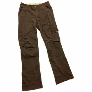 REI  SZ S Brown Cargo Pants UPF 50+