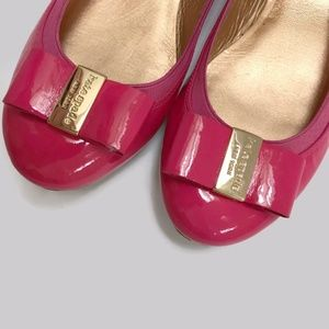 de53dd06d172 kate spade Shoes - Kate Spade Tock Patent Leather Ballerina Bow Flats