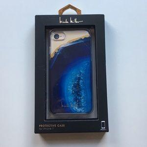 Nicole Miller iPhone 7 Geometric Stone Phone Case