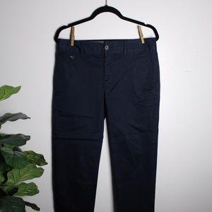 Banana Republic Navy Blue Stretch Pants