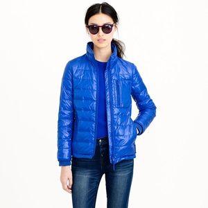 JCrew black Lightweight puffer jacket