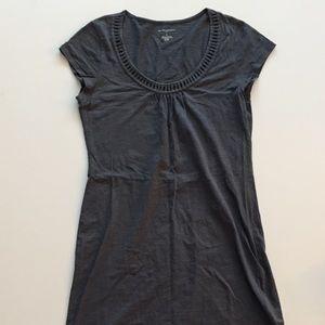 Banana Republic Gray Cotton Dress