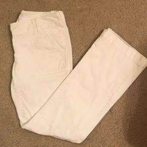 Ann Taylor LOFT white pants