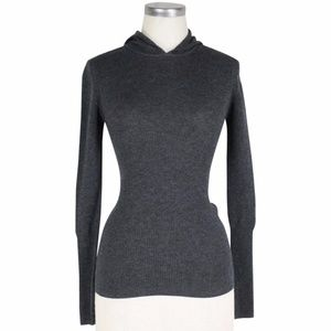 Kate Spade Saturday ribbed hooded sweater