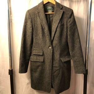 Ralph Lauren Wool Blazer-Style Structured Jacket
