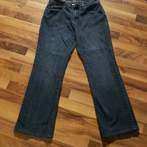 Blue Zenim Size 10 Straight Leg Jeans