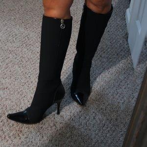 Couture Donald Pliner knee hi boots