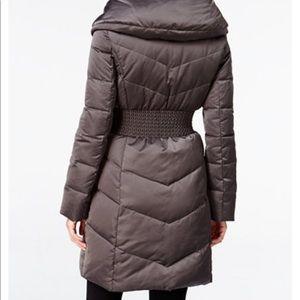 T Tahari down puffer coat XS