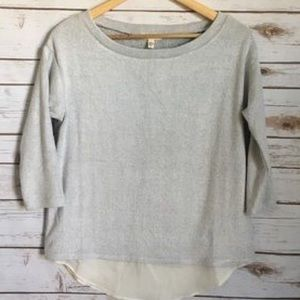 Urban Outfitters Silence + Noise layer pullover