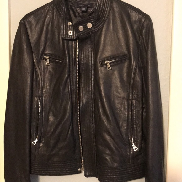 Tommy Hilfiger Leather motorcycle jacket