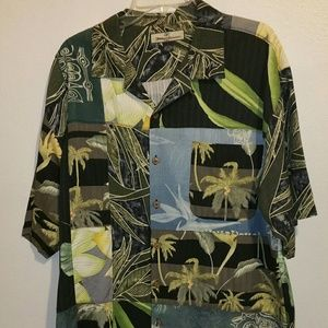Tommy Bahama Silk Tropical Casual Shirt