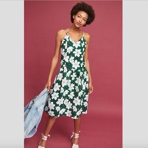 Anthropologie Lawn Party Midi Dress