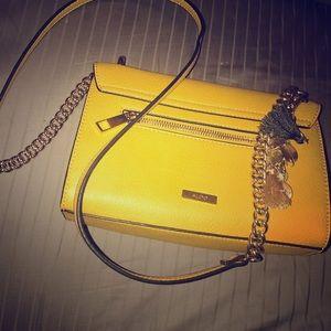 Yellow & Gold Crossbody Bag