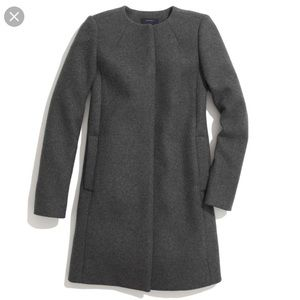 Madewell Curator Coat Grey Size Large