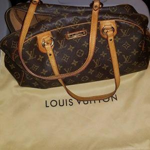 Louis Vuitton Speedy Montergueil Handbag Purse