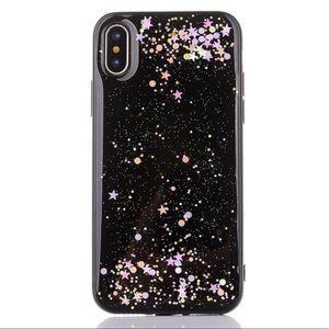 COMING 🔜iPhone X Soft TPU Glitter Case