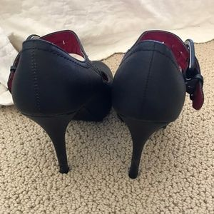 Black Mary Jane Heels Sexy and Comfortable