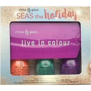 China Glaze Seas the Holiday Nail Polish Gift Set