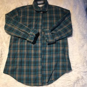 VINTAGE Nordstrom's plaid shirt
