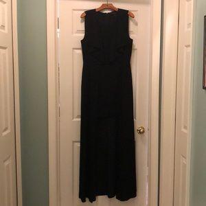 BCBG black dress. Size 12. Worn once! Black