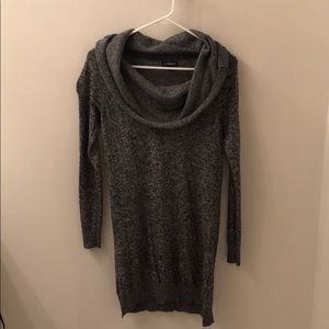 Grey express sweater dress