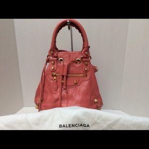 Brand New, Authentic Balencgiaga Mini Pom Pon Bag