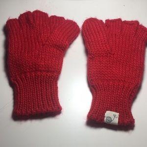Knit Fingerless Mittens