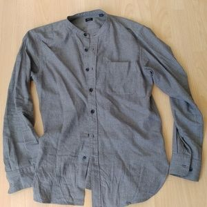 Uniqlo Band Collar Shirt