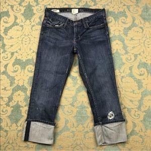 "Banana Republic Blue Jeans 🦋 22"" Inseam"
