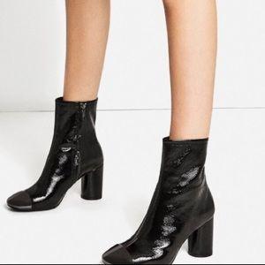 Cap top boots