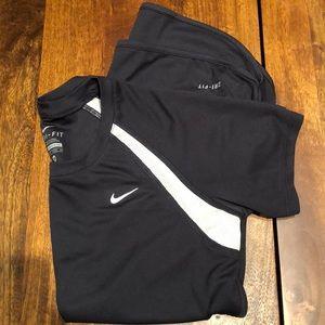 Nike zero-fit workout Top Size XS