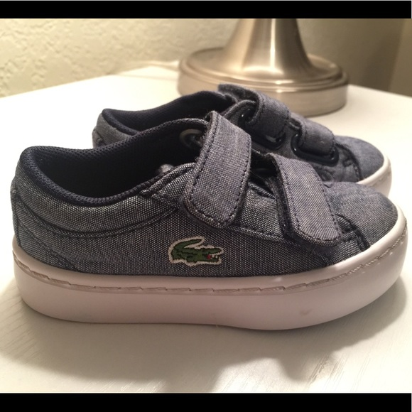 bdb48fefc Lacoste Other - LACOSTE DENIM TODDLER SHOES! Price reduction!