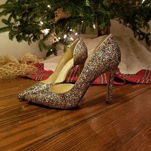 Jessica Simpson Multi Sequin Heels