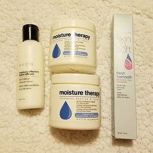 Avon Moisture Therapy & Eye makeup remover lotion