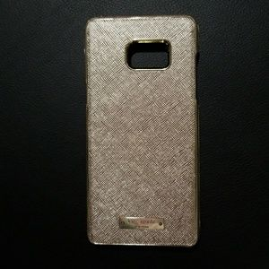 Kate Spade Note 5 case Gold