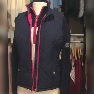 Ralph Lauren Navy Vest