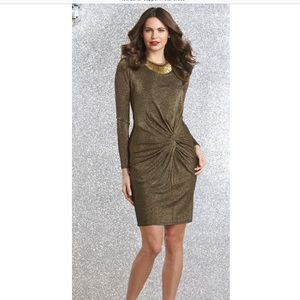 Excellent Condition Ted Baker Copper Lizzey Dress