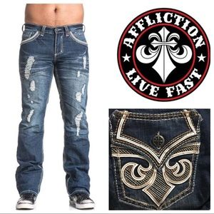 Affliction Blake Fleur Frisco Men's Jeans