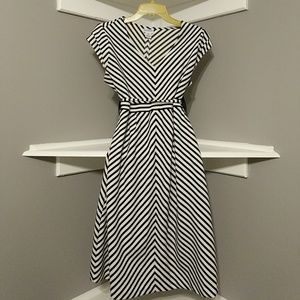 Motherhood Maternity Striped Dress