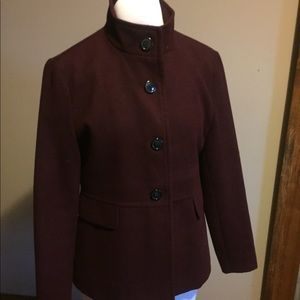 Old Navy women's coat. Burgundy. Soft and warm!