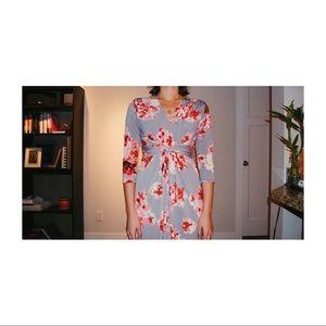 Piper & Scoot Floral Maxi Dress