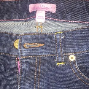 Lilly Pulitzer cropped jeans