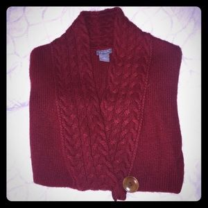 SALE ✨ EUC Beautiful Red Ann Taylor Sweater! (M)