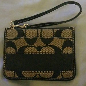 Small Coach ID Holder with Coin Purse
