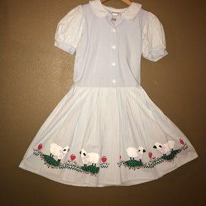 Vintage 80's Ann Labay dress