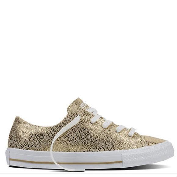 823c590a7b21b7 Converse Shoes - Converse All-Star Gemma Stingray Gold Sneakers