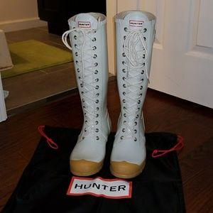 Rare Hunter Watling Lace Up Boots!!